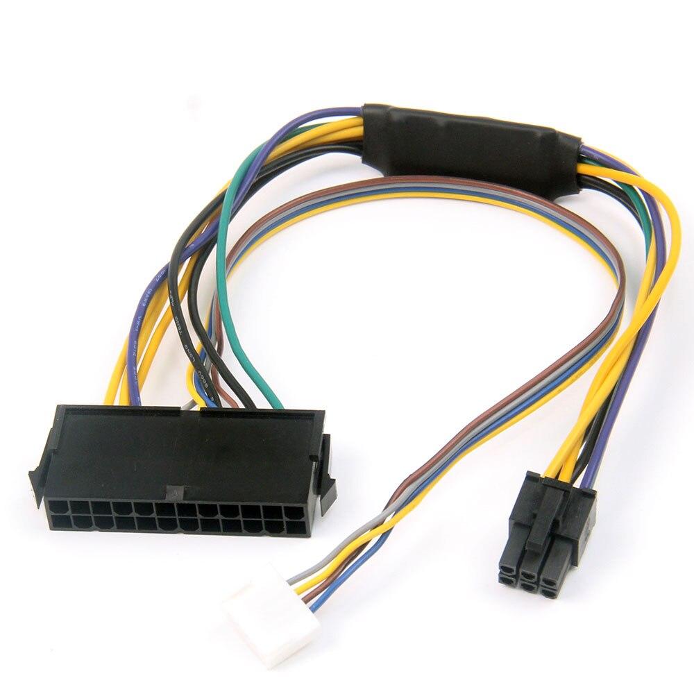 ATX 24-pin To 6-pin HP HP Elite 8100 8200 8300 800G1 ATX 24-pin To 6P Conversion Cable