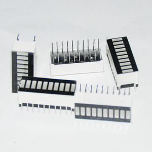Image 2 - 25 Stuks Led Bar Display Bargraph Module 10 Segment Gemengde Buis 10 Bar Grafiek Led Display Rood Wit Blauw groene Jade Groen 5 Pcs Elke