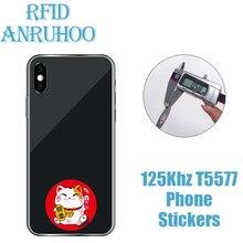 5PCS RFID Rewritable Copy Key 125Khz Smart Chip Sticker EM4305 Copier Badge T5577 Programmer Duplicator Tag ID Proximity Card
