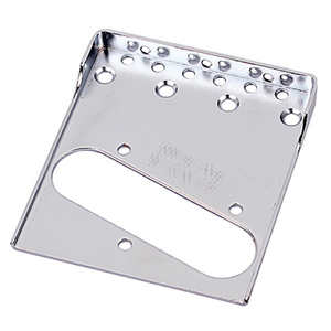 Single-edged Notched Guitar Bridge Plate Guitar Pickup Replacement Parts Accessories Compatible for Fender Telecaster TL Electri
