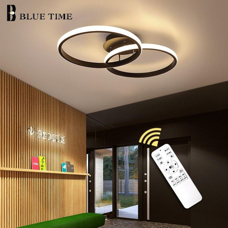 Новинка, светодиодный светильник для гостиной, спальни, прохода, потолочные люстры, освещение, черный и белый каркас, освещение для помещений|Люстры|   | АлиЭкспресс