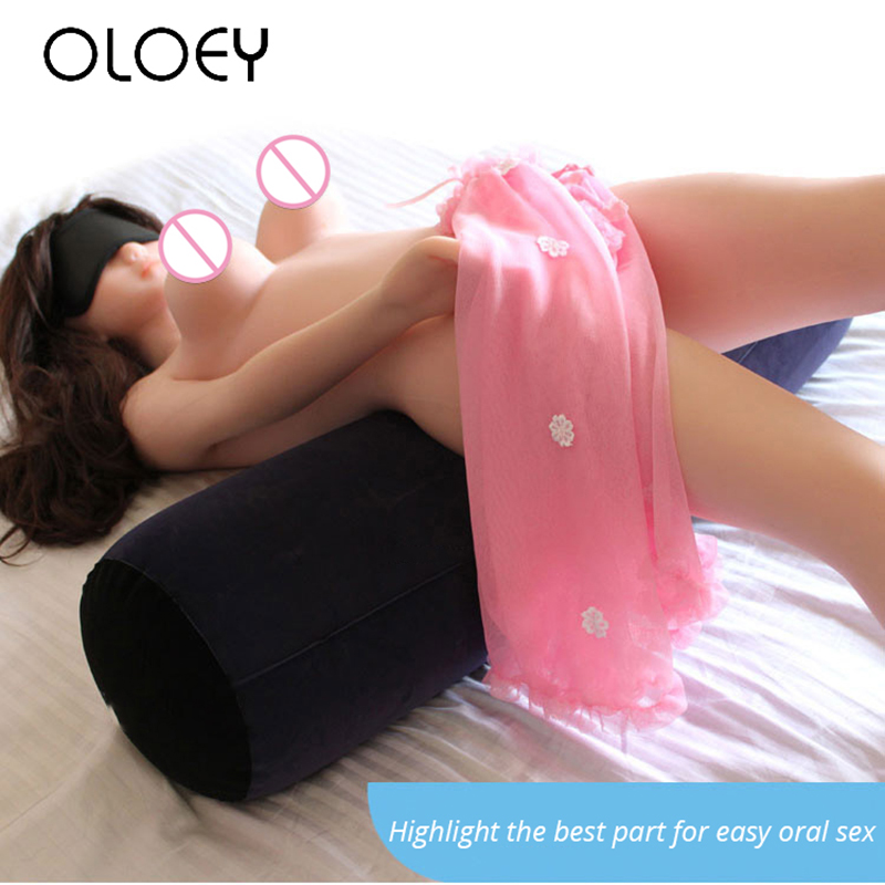 Inflatable Circular Pillow Sofa Adult Sex Toys Body Support Pads Back Cushion for Woman Couples SM Games Sex Furniture