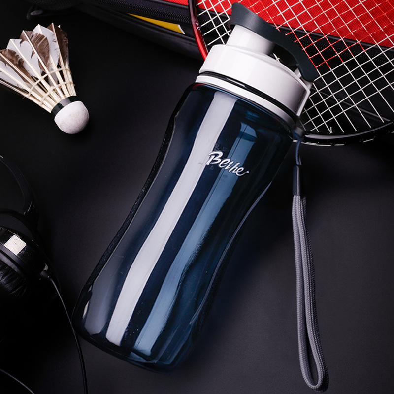 Kettle 720ML plastic water dispenser student outdoor sports school portable space cup leak proof cup drinking water bottle-in Water Bottles from Home & Garden on AliExpress