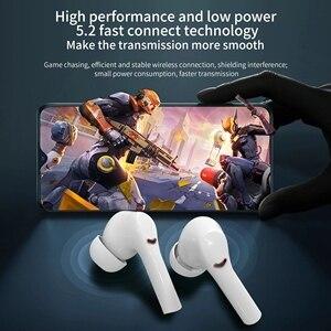 Image 5 - ANC J5 Tws Bluetooth 5.0 Wireless Headphones Sport Earphones Stereo Waterproof Earbuds Music Touch Control Headphones With Mic