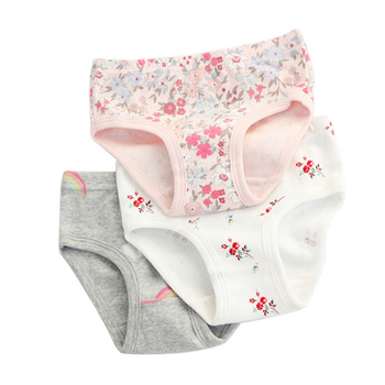 SheeCute 3 Pcs/lot Girl's Toddler & Kids Underwear 100% Cotton Soft Panties Baby Briefs - discount item  50% OFF Children's Clothing