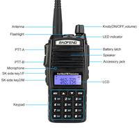 baofeng uv שתי דרך רדיו UHF VHF Dual-Band Ham משדר חלקי סט קיט לקבלה Baofeng UV-82 (4)