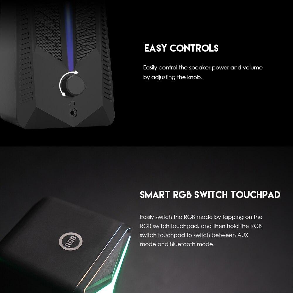 Fantech GS301 Trifecta RGB Gaming Speaker 8