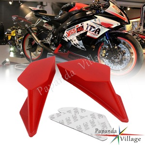 Universal Spoiler Downforce Side Fairing Fin Winglet Kit Aero Dynamic Wing Kit For Honda CRB1000RR CBR600RR Ducati 959 1299