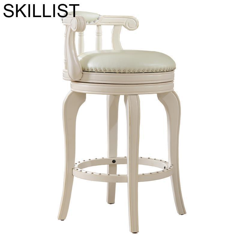 Tabouret De Industriel Ikayaa Banqueta Todos Tipos Barstool Table Sedia Stoelen Leather Silla Stool Modern Cadeira Bar Chair