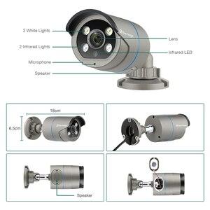 Image 5 - Techage 1080P POE IP Camera 2MP Home Smart AI Camera Outdoor impermeabile sicurezza Video CCTV telecamera di sorveglianza supporto ONVIF