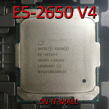 Intel Xeon E5-2650 V4 CPU 2.2GHz 30M 12 Core 24 Threads LGA2011-3 Processor image