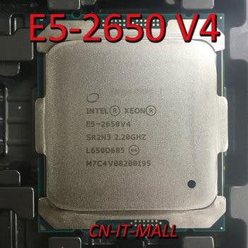 Intel Xeon E5-2650 V4 CPU 2.2GHz 30M 12 Core 24 Threads LGA2011-3 Processor