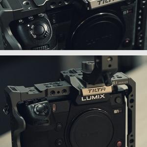 Image 2 - Tilta Panasonic LUMIX S1H/S1/S1R Camra käfig zubehör volle käfig top griff grundplatte rekord kabel HDMI Kabel TA T38 FCC G