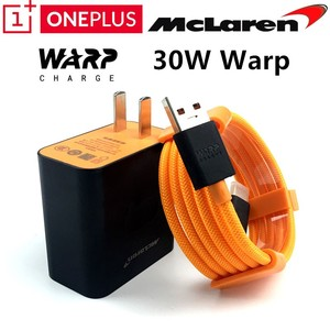 Image 1 - Oneplus 7T Pro Charger Een Plus 7 7T 6 6T 3 3T 5 5T Originele 5 V/6a Mclaren Snelle Warp Lading Adapter 30 Dash Opladen Usb 3.1 Kabel