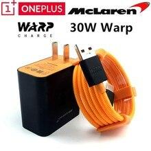 Oneplus 7t pro chargeur A plus 7 7T 6T 3 3T 5 5T Original 5 v/6a Mclaren adaptateur de Charge de chaîne rapide 30 Dash chargeur USB 3.1 câble