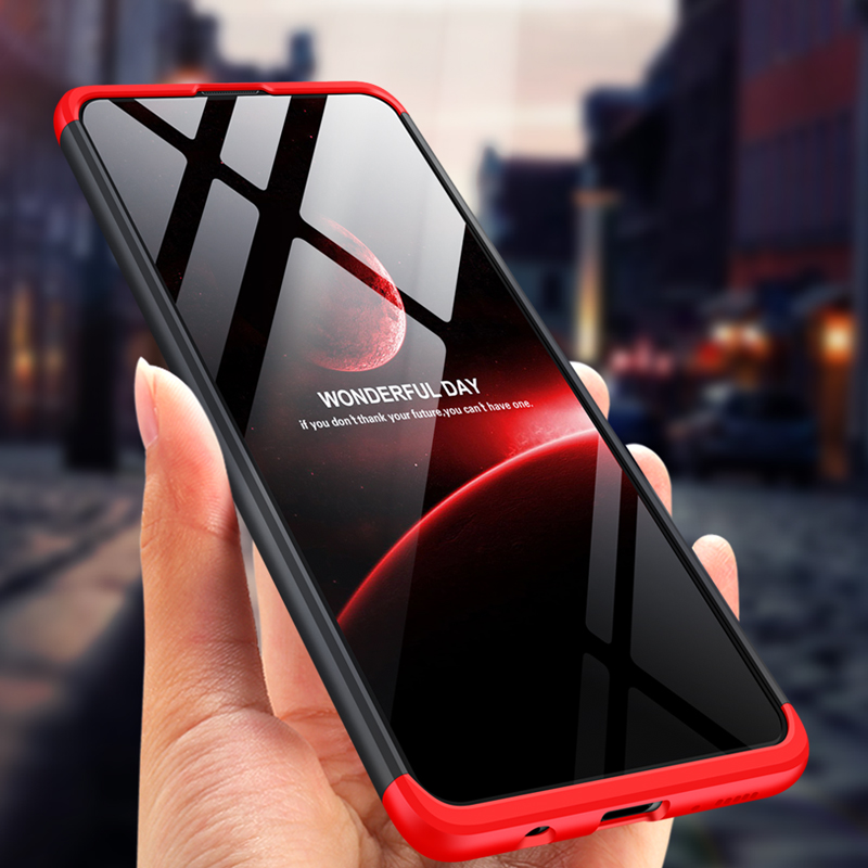 For <font><b>OPPO</b></font> <font><b>Realme</b></font> 6 Pro XT 5 5i 5S 6i Case Luxury <font><b>3</b></font> In 1 Hard PC Plastic 360 Full Protection Cover <font><b>Phone</b></font> Shockproof Fundas image