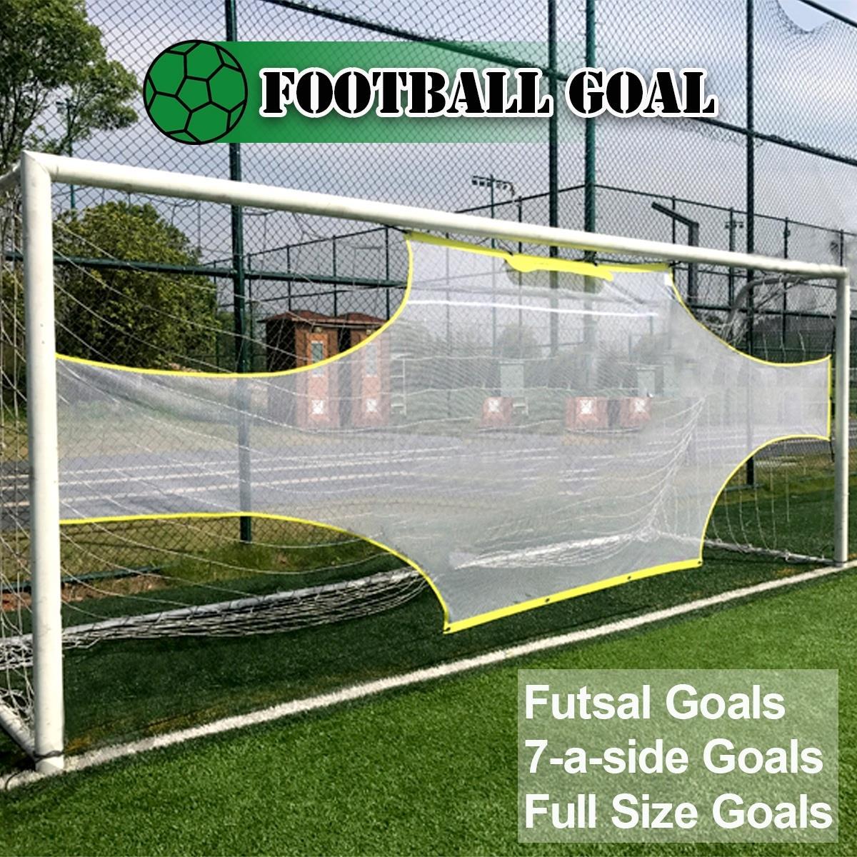 11 person Large Soccer Target Practice Training Shot Goal Net Portable Soccer Ball for Children Students Soccer Training Tool