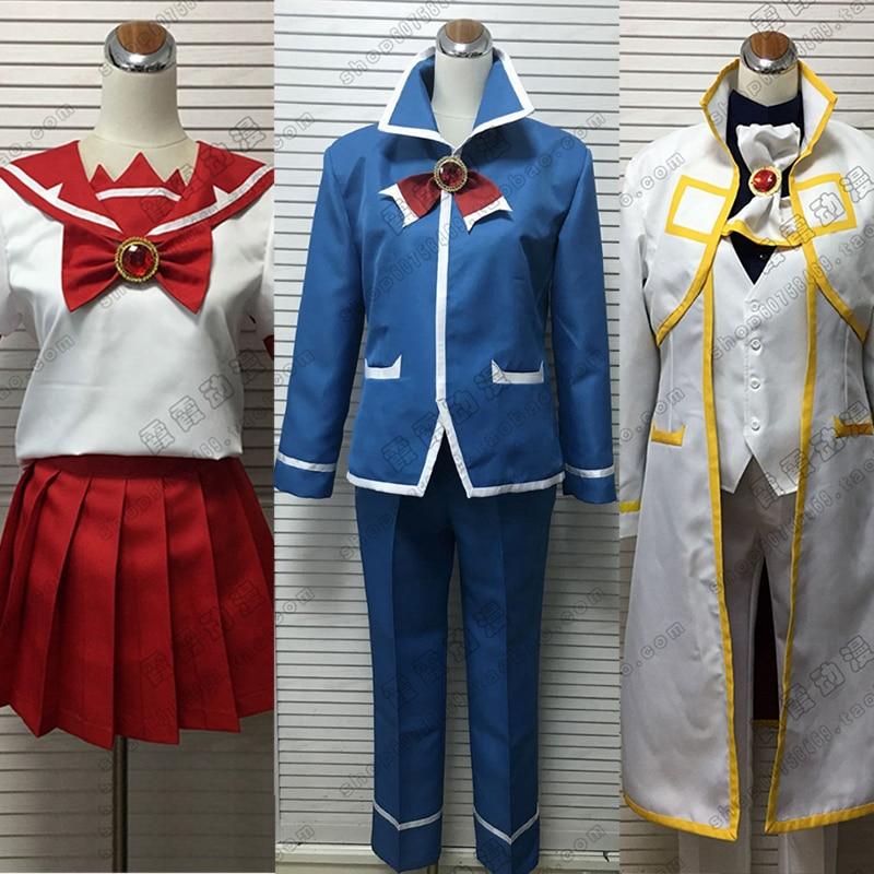Anime Mairimashita! Iruma-kun Welcome to Demon School Iruma Suzuki Cosplay Costume Custom Made