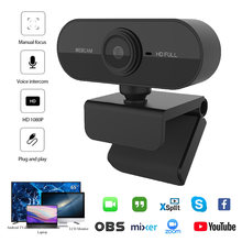 Webcam 1080P web camera with microphone Web USB Camera Full HD 1080P Cam webcam for PC computer Live Video Calling Work