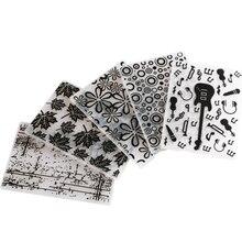 Embossing-Folder Scrapbook Template Stencils Mold-Tools PAPER Making-Decoration Plastic