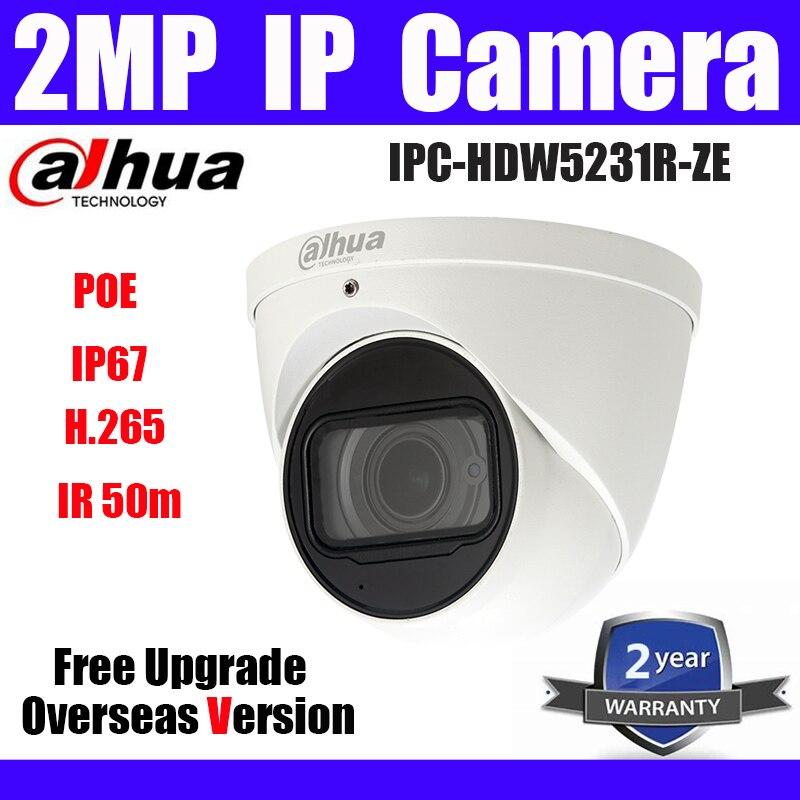 Dahua IPC-HDW5231R-ZE 2MP Starlight IP Camera PoE Network replace IPC-HDW5231R-Z