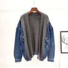 Jacket Women SHENGPALAE Coat Female Autumn Winter Casual New-Fashion Denim Tide Loose