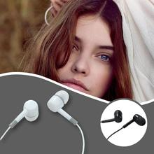 цена на High-quality Noise-cancelling Headphones Built-in Microphone 3.5 mm in-ear Wired Smartphone Earphones
