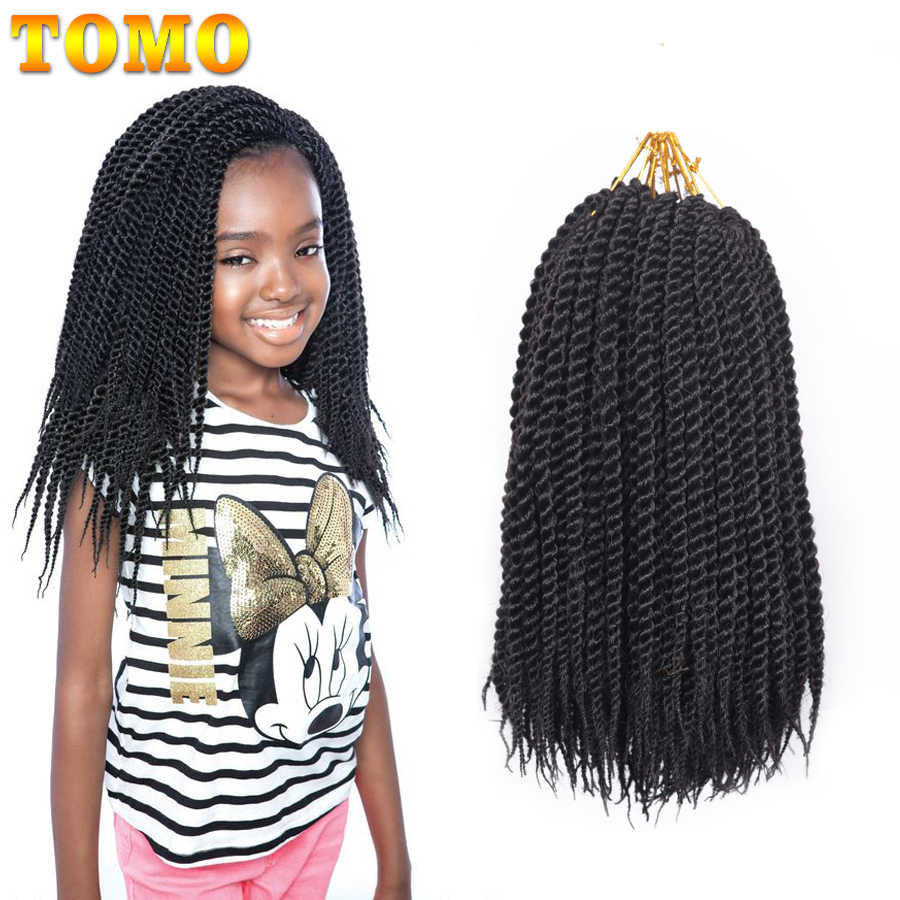 "TOMO Crochet Hair Extensions 22strands 12"" 14"" 16"" 18"" 20"" 22"" Crochet Braids Ombre Brown Burgundy Synthetic Hair Extensions"