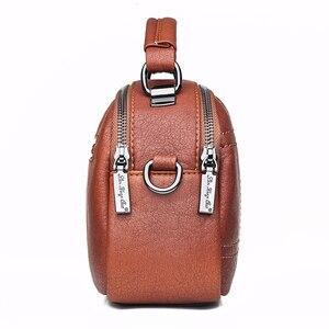 Image 2 - Women Messenger Bags 2019 Crossbody Bags For Women Soft Leather Shoulder Bag Sac A Main Small Handbags High Quality Flap Bag