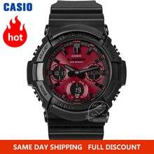 Часы Casio Мужские, G SHOCK top, Роскошные, военные, хронограф, светодиодный, цифровые, спортивные, водонепроницаемые до 200 м, кварцевые, мужские часы, relogio mascul