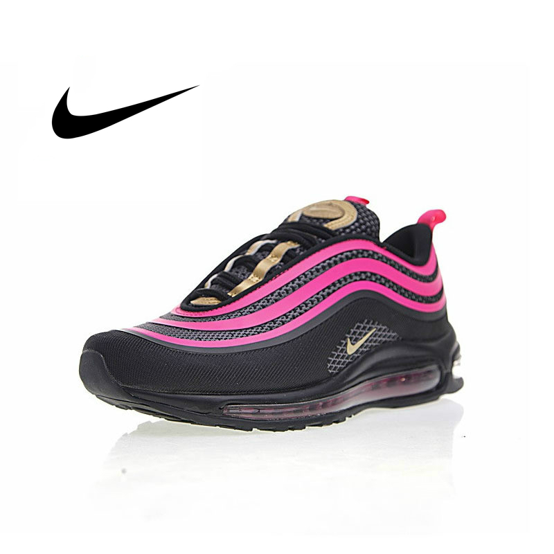 Original Authentic Nike AIR MAX 97 OG Women's Running Shoes Classic Fashion Outdoor Sports Shoes Shock Absorption 917999-002