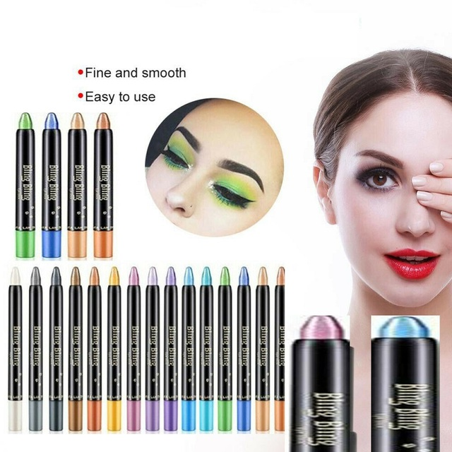 Fashion New Professional Eye Shadow Pen for Girls Women Makeup Eyeshadow Beauty Highlighter Eyeshadow Pencil 116mm maquillage 1