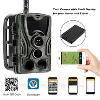 APP Clould Service Hunting Trail Camera HC801LTE With 5000Mah Recharger Battery 4G Wild Cellular Night Vision Surveillance
