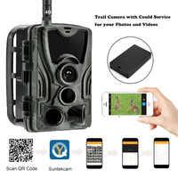 APP Clould Service Jagd Trail Kamera HC801LTE Mit 5000Mah Ladegerät Batterie 4G Wilden Cellular Nachtsicht Überwachung