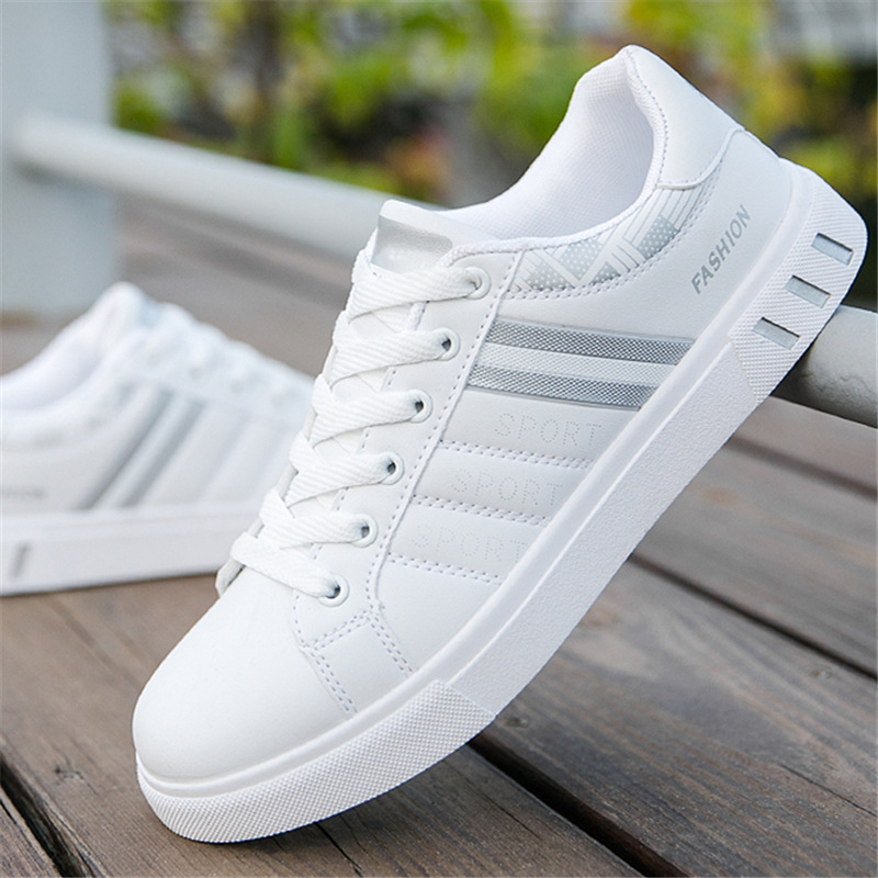2019 New Fall/Winter Men Casual Shoes Fashion New White Sneakers Men Shoes Comfort Chunky Sneakers Men's Shoes Trainers NanX95 1