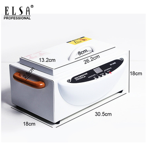 Image 5 - High Temperature Sterilizer Box Nail Art Salon Portable Sterilizing Tool Manicure Tool Dry Heat Sterilizer In RU Warehouse