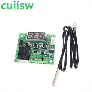 Image 2 - 10pcs W1209  50 100C DC 12V דיגיטלי טמפרטורת controllear בקרת טמפרטורת התרמוסטט מתג צלחת W1209