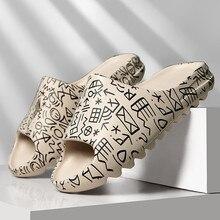 Men Sandals Summer Soft bottom Sandals Trend Unisex Slippers Light Beach Shoes Unisex Home Slippers Classic Comfortable Slippers