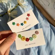 Ярких цветов в Корейском стиле 3 пар/лот смешанных стилей с