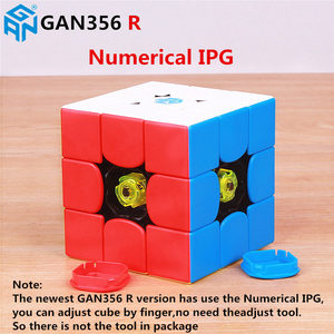Image 5 - Cubos de velocidad mágicos GAN356 R S 3x3x3, gan stickerless, rompecabezas profesional gan 356R, cubos educativos, juguetes para niños, gan 356 R RS