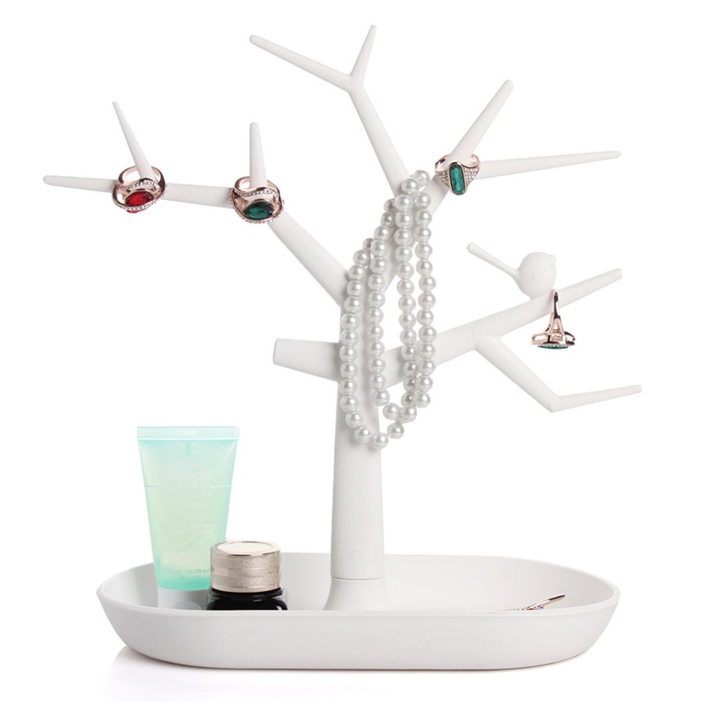 Multifunctional Tree Branch Shape Jewelry Displays Packaging For Ring Earrings Bracelet Necklaces Organizer Makeup Stand Holder