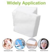 100 pces não tecido gaze esponja usado médico gaze primeiros socorros suprimentos para cuidados com feridas gaze ataduras suprimentos médicos