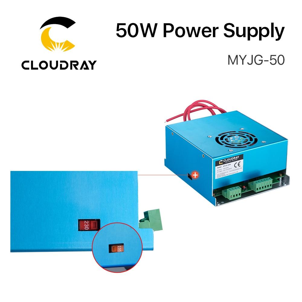 Zasilacz laserowy Cloudray 50W CO2 do grawerki laserowej CO2 - Części maszyn do obróbki drewna - Zdjęcie 5