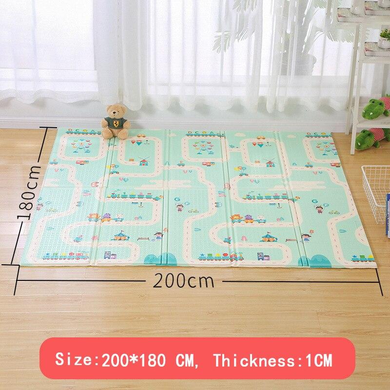 XPE детский игровой коврик, коврик для ползания с двойной поверхностью, детский коврик, развивающий коврик для детей, игровой коврик в детском тренажерном зале|Игровые коврики|   | АлиЭкспресс