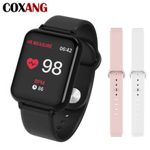 COXANG b57 Smart Watch With Pressure Measurement Heart Rate Monitor b57 Smartwatch Waterproof  Pedometer Smart Watch ladie/ Men