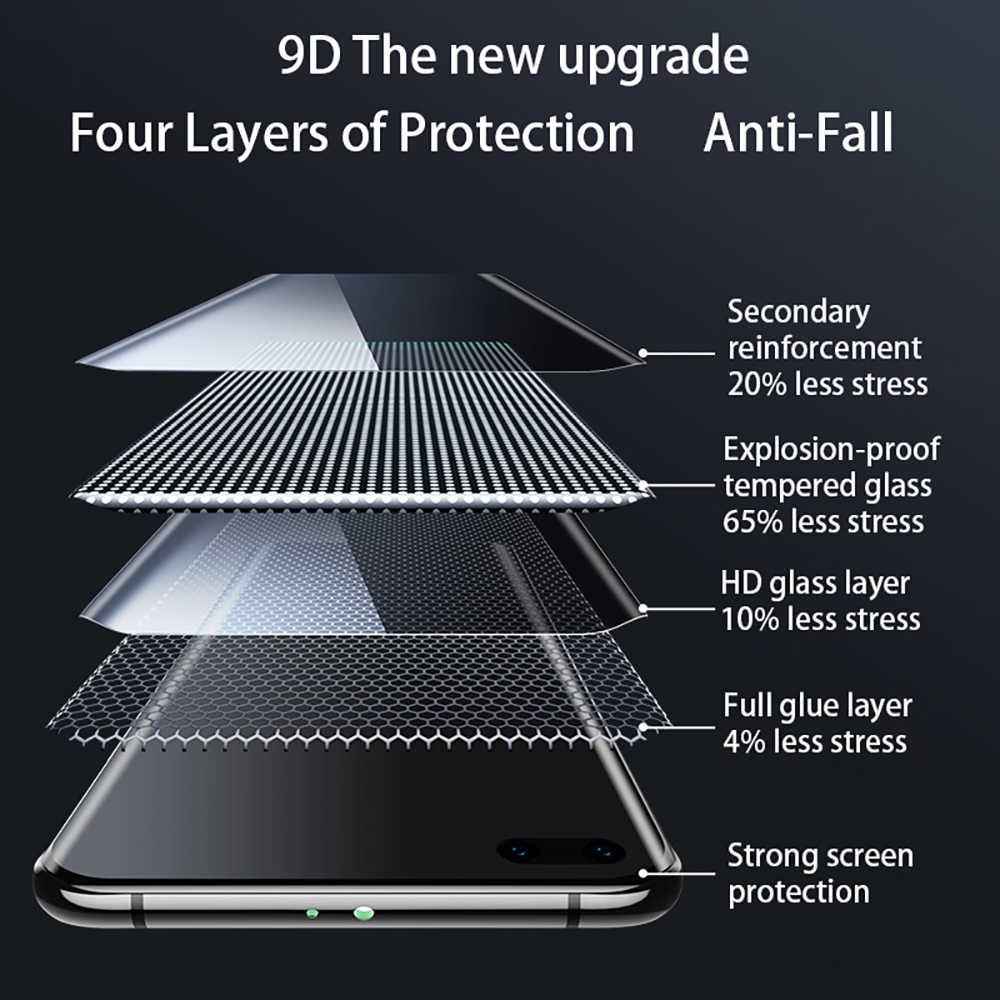 9D Temperli Cam Xiaomi redmi Not 8 Pro için Tam kapak note8 Pro akıllı telefon Ekran Koruyucu 9H Sertleştirilmiş film 2019