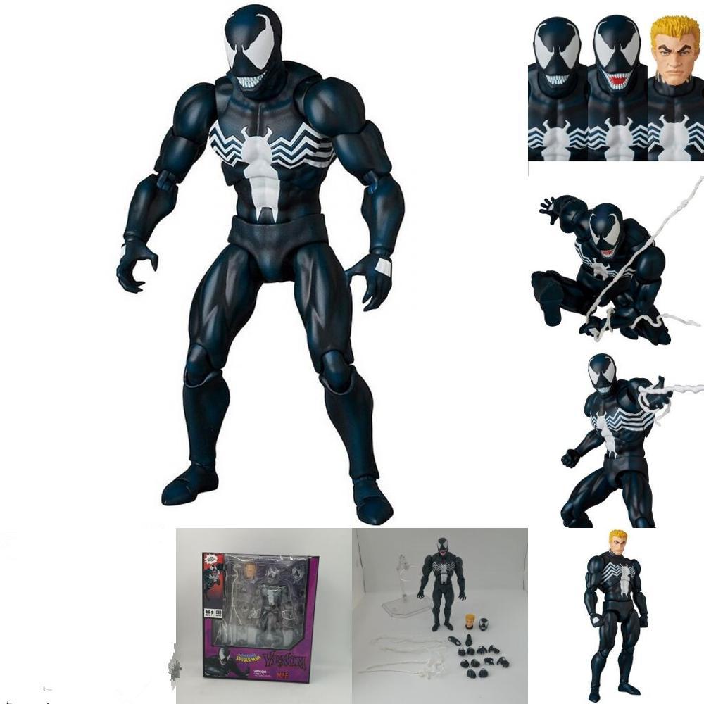 """8/"""" Marvel Spiderman Vemon Carnage Villian Comic Figure PVC Model Toys Gift"""