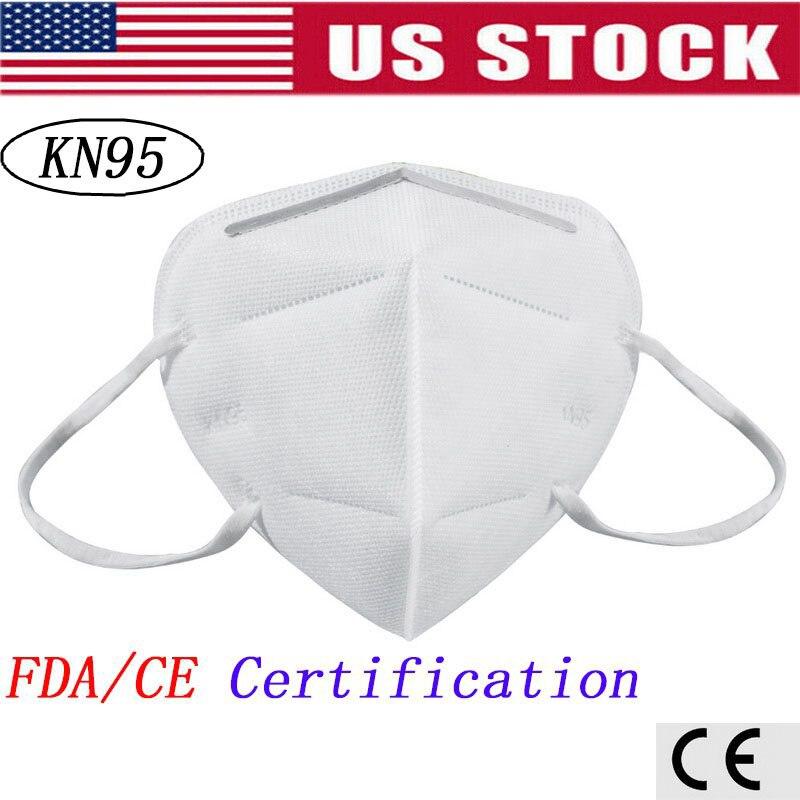 2020 Dropshipping ! 10Pcs Mask KN95 Mascarilla Coronavirus Anti-virus,fog, Dust, Mask Coronavirus, FDA/CE Certification Masks