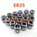15 шт. Высокое качество эластичный патрон ER25 (2 мм-16 мм) CNC двигатель гравировальной машины Инструмент вала патрон
