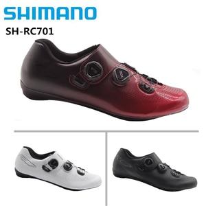 Image 1 - Shimano RC7 Carbon Road Bicycle Cycling Bike Shoes SH RC701 free shipping